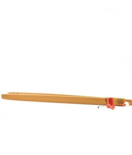 pinza de bambu