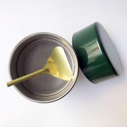 colador para el té verde en polvo