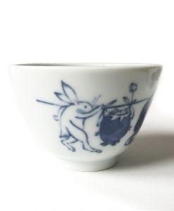 vaso japonés de porcelana