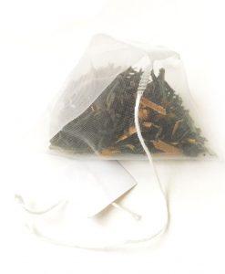 pirámide té negro con especias