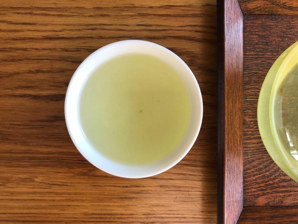 segunda infusión del té verde con arroz tostado