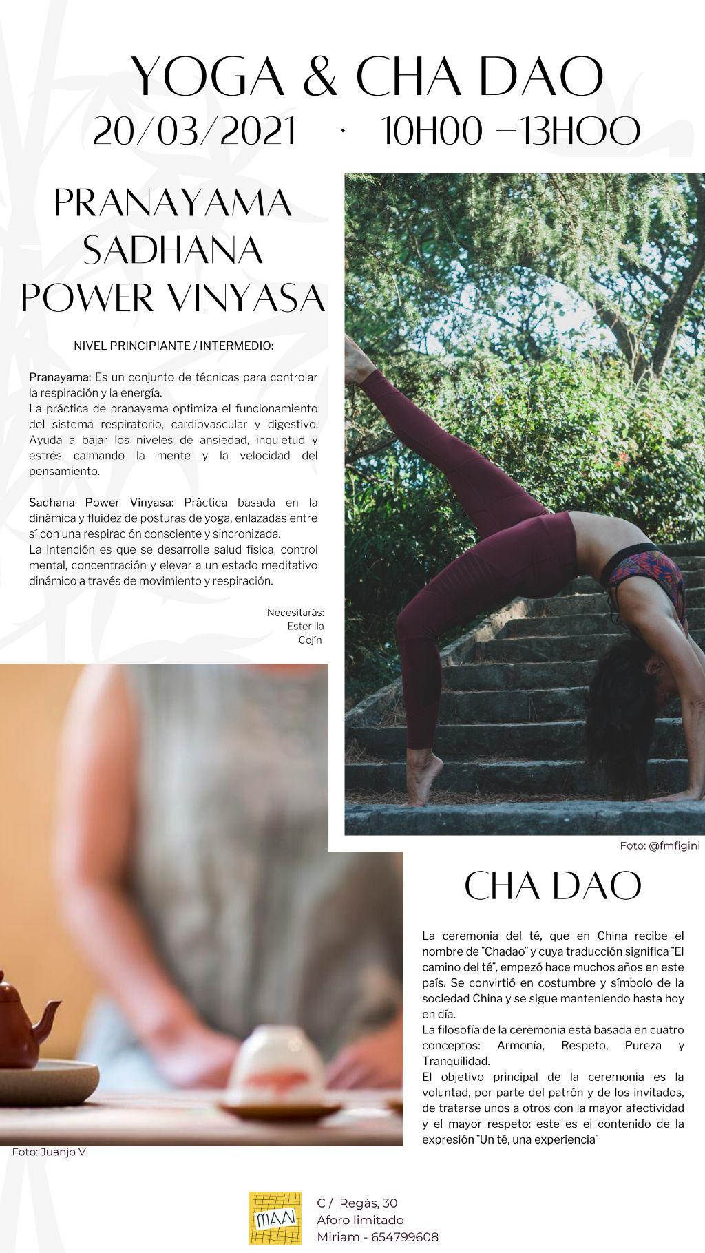 yoga chadao