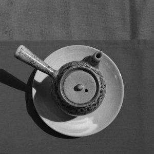 práctica del té y meditación