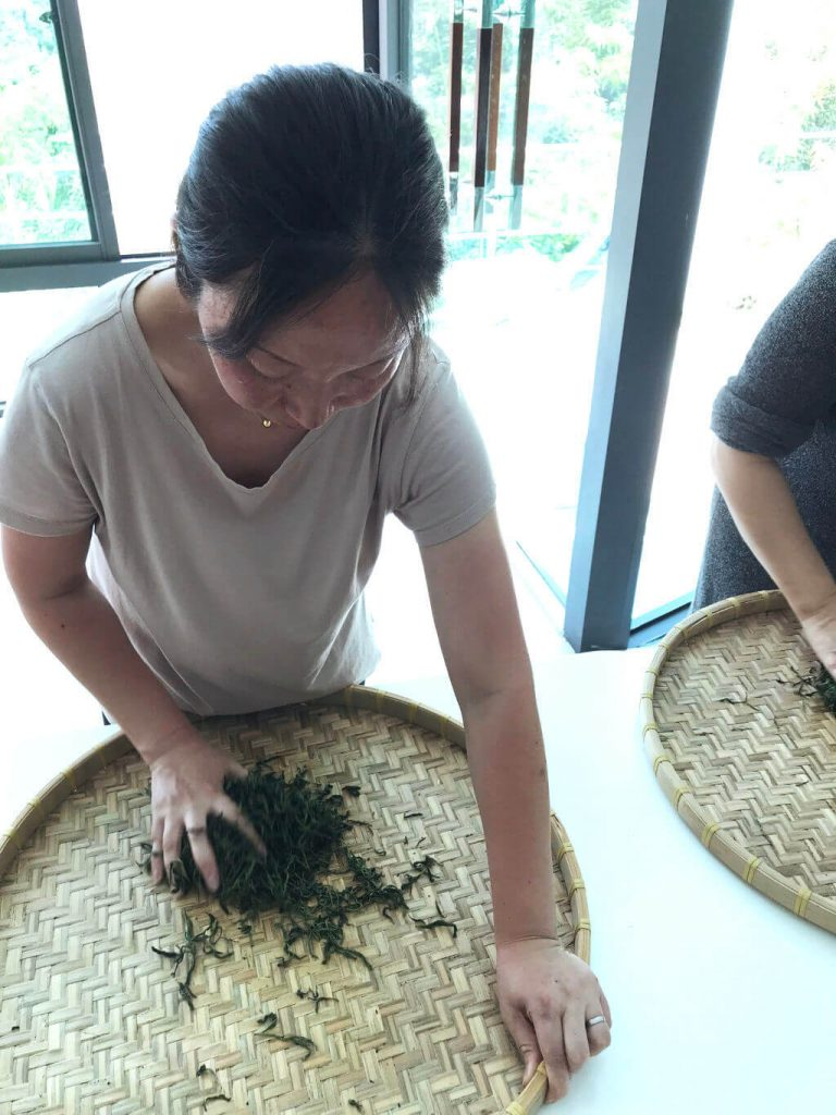 té negro de Taiwán jade rojo